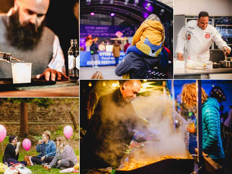 Thousands flock to Bank Holiday food festival